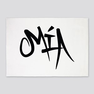 MIA Graffiti 5'x7'Area Rug